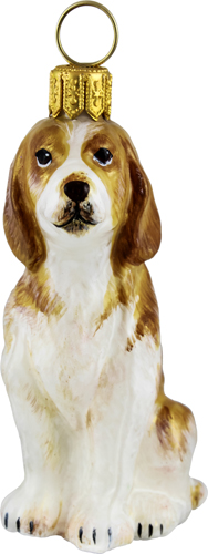 Lemon and White Beagle
