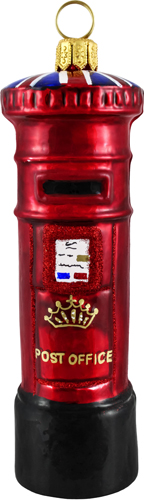 British Royal Mailbox Ornament.