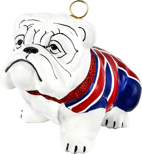 Union Jack flag bulldog.
