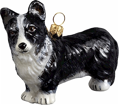 Cardigan Corgi- Black and White