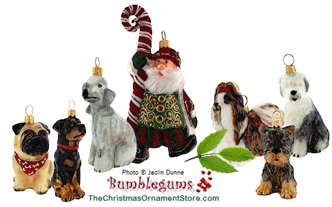 Christmas Ornaments From Bumblegums