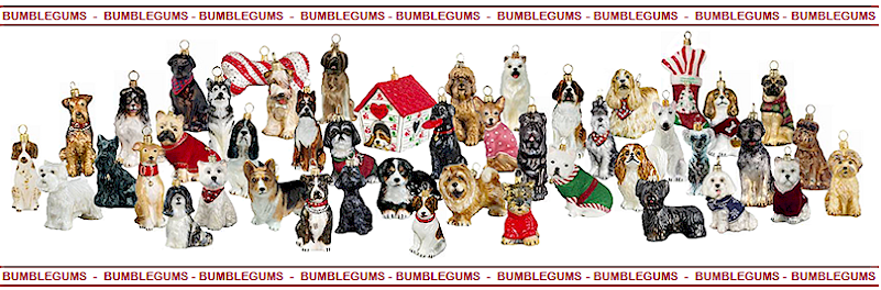Dogs- Dog Breed Christmas Ornaments