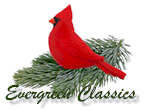 Evergreen Classics Christmas ornaments & decorations.