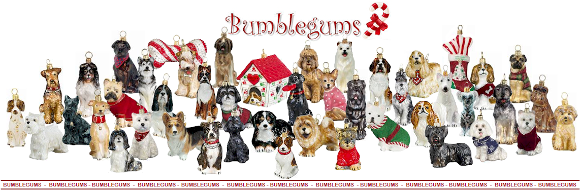 Dogs- Dog Breed Christmas Ornaments - Bumblegums The Christmas Ornament Store
