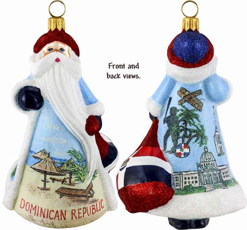 Dominican Republic Santa.
