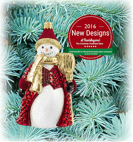 Joy to the World 2016 Christmas Ornaments